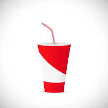 Soda Fountain Drink Illustration