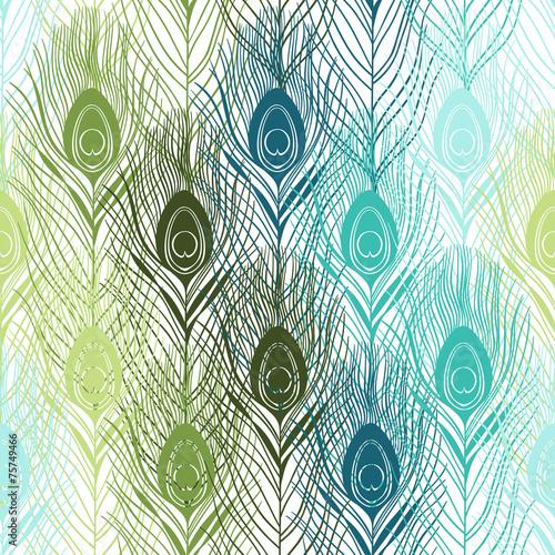 bezszwowy-wzor-z-pawimi-piorkami-recznie-rysowane-tla-wektor