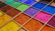canvas print picture - Colorful pigments