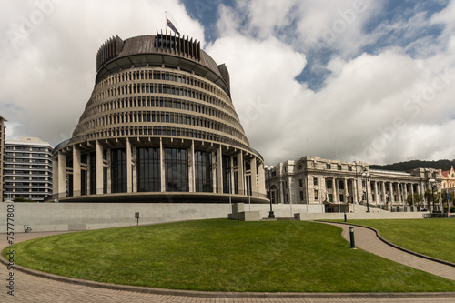 New Zealand Parliament buildings, Wellington