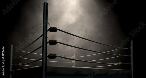 Poster Retro Classic Vintage Boxing Ring