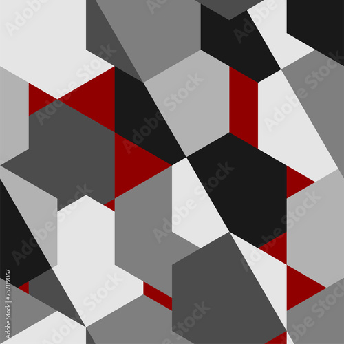 streszczenie-geometryczny-wzor-wektor