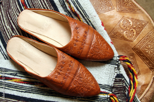 920f450d2ad traditional moroccan shoes - Buy this stock photo and explore ...