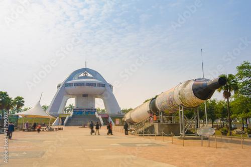 Deurstickers Nasa solar exploration center in chiayi, taiwan