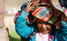 Little Peruvian Playing