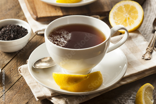 Hot Organic Black Tea