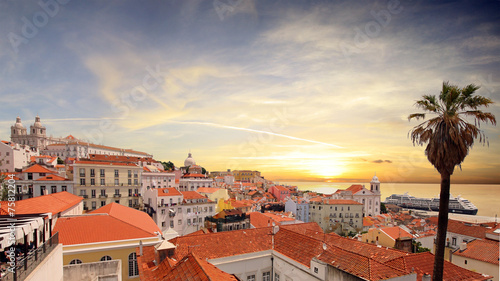 Plakat Portugalia - Lizbona