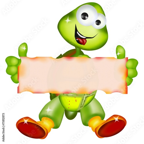Fotografie, Obraz  tartaruga spot