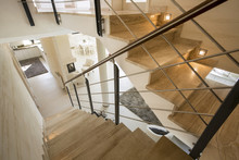 Marble Staircase In Expensive ...