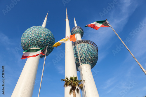 Recess Fitting Middle East The Kuwait Towers, Middle East