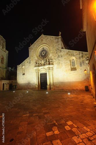Poster Rood paars Cattedrale di Otranto