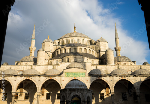Photo  sultan ahmed blue mosque, Istanbul Turkey