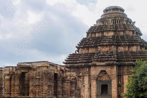 Fotografie, Obraz  The Ancient Temple at Konark