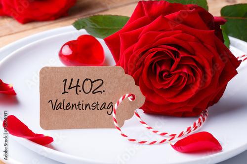 Romantisch Essen Am Valentinstag Buy This Stock Photo And Explore