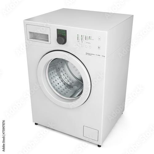 Fotografie, Obraz  Washing machine isolated