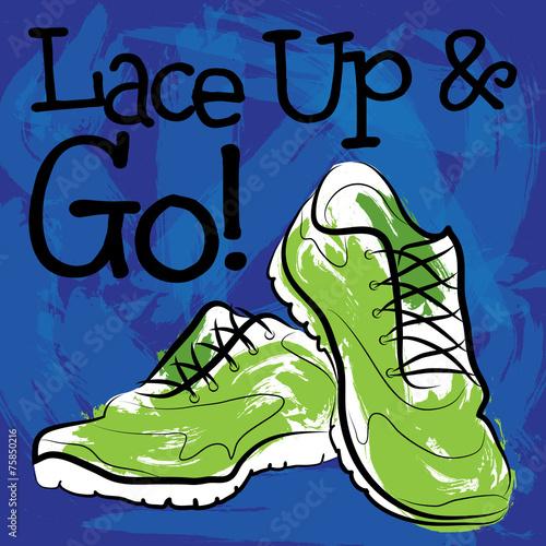 Fotografía  Lace Up Sneakers