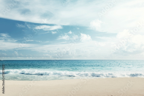 Fotobehang - tropical beach