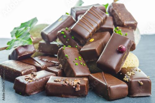 Fotografie, Obraz  chocolats