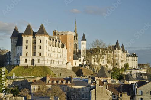 Photographie Centre historique de Pau, capitale du Béarn.