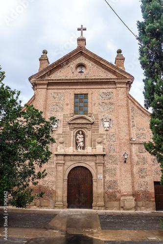 Spoed Foto op Canvas Zuid-Amerika land San Jose monastery in Calahorra
