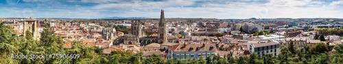 Aerial view of Burgos