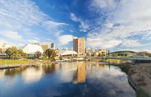 Adelaide City In Australia Dur...
