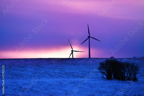 Driven By Winter Wind >> Wind Driven Electric Plant In Firstlight In Winter Buy This Stock