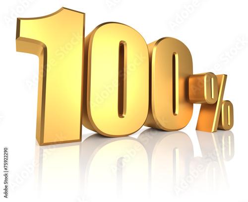 Fotografía  Gold 100 Percent