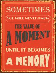 Fototapeta Vintage Vintage typography