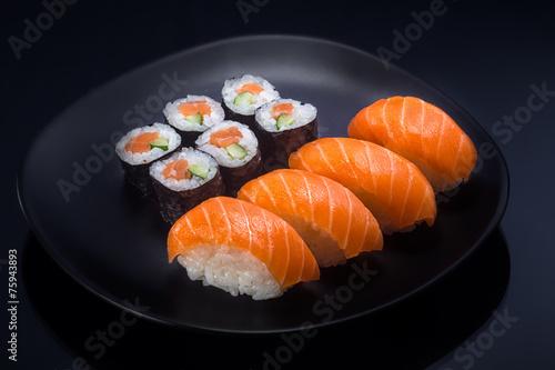 Poster Sushi bar Japanese Food shush