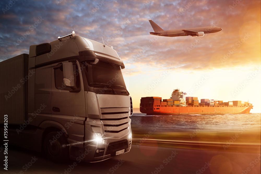 Fototapety, obrazy: Logistics