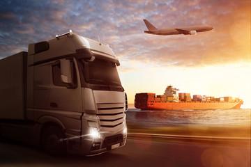 Fototapeta Logistics