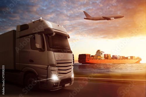 Fotografia, Obraz  Logistics