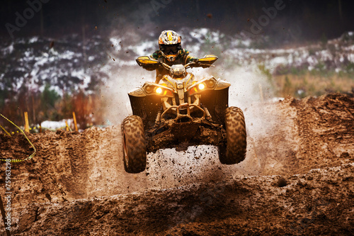 Photo sur Aluminium Motorise ATV