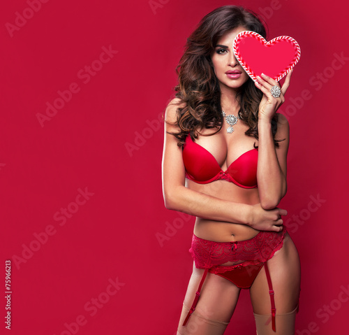 Obraz St. Valentine's Day. - fototapety do salonu