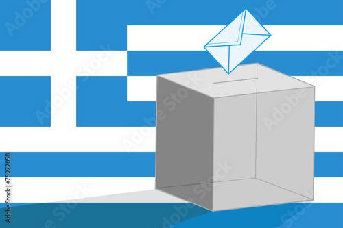 Fotografia, Obraz  Greek elections
