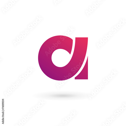 Fotografie, Obraz  Letter A logo icon design template elements