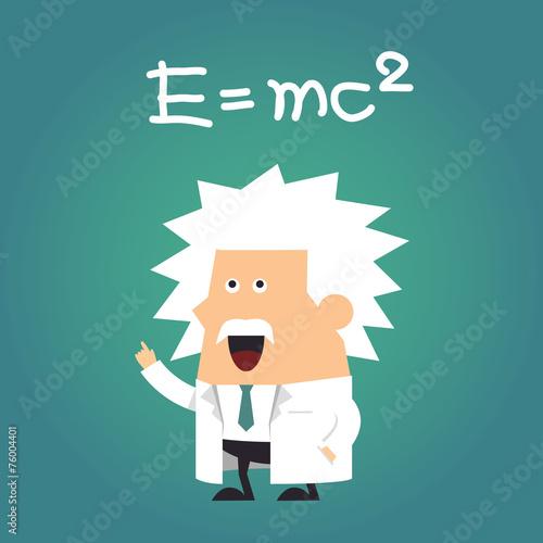 Fotografie, Obraz  Einstein