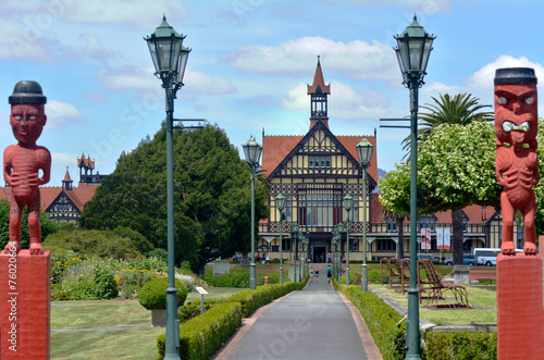 Poster Nouvelle Zélande Rotorua Museum of Art and History - New Zealand