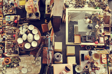 Bits And Pieces In A Flea Market