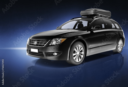 Car Automobile Contemporary Drive Driving Vehicle Concept #76027092