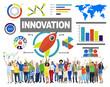 People Celebration Creativity Growth Success Innovation Concept