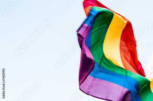 LGBT Flag Wallpaper Mural