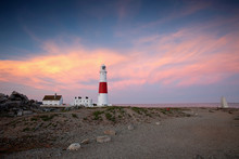 Portland Bill Lighthouse In Do...