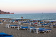 Alanya - Late afternoon on Cleopatra Beach. Turkey