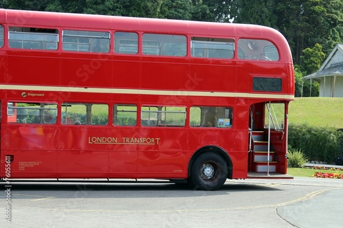 Photo  london bus red bus