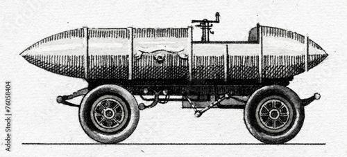 szkic-pojazdu-vintage