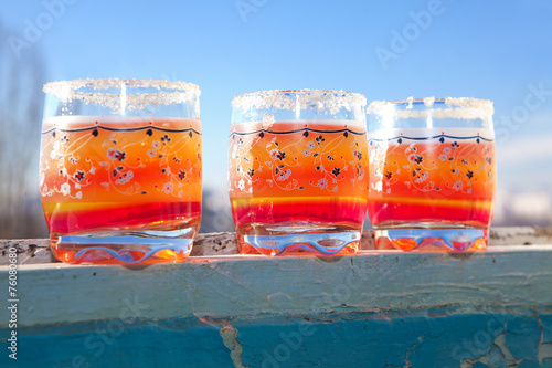 Fotografie, Obraz  jelly cups