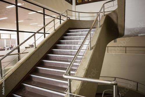 Foto op Plexiglas Trappen Empty stair way