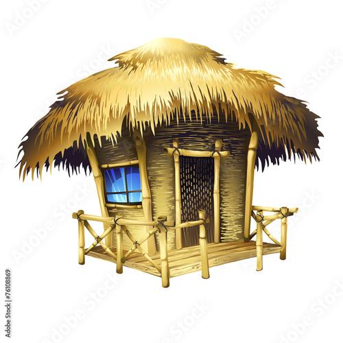 Fotografía tropical bungalow